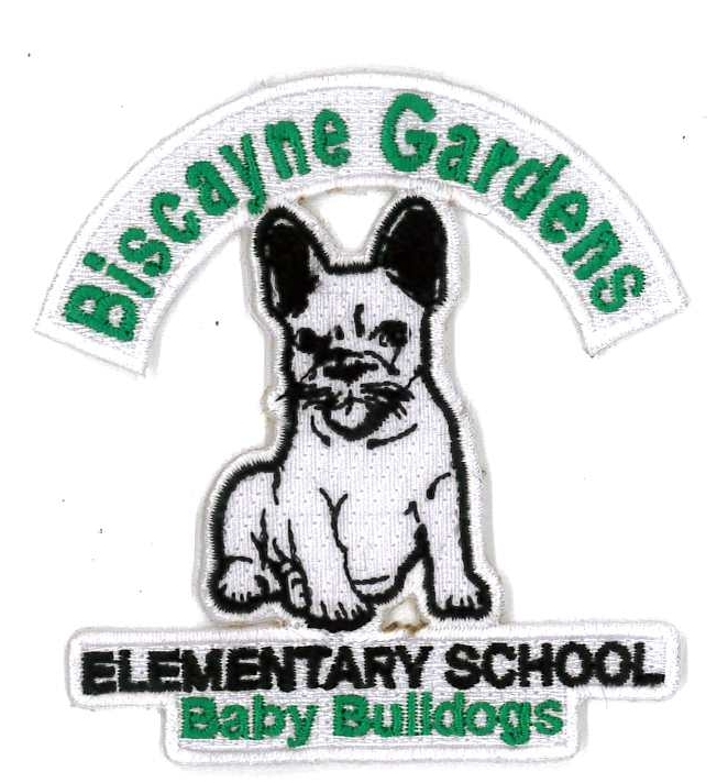 Dress code emblem only for Biscayne gardens elementary school