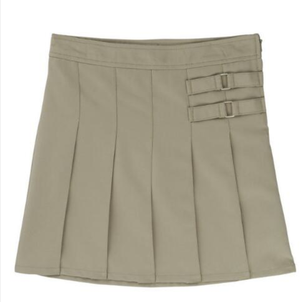 GIRLS - VALUE LINE - Girls Scooter Two-Tab Pleated