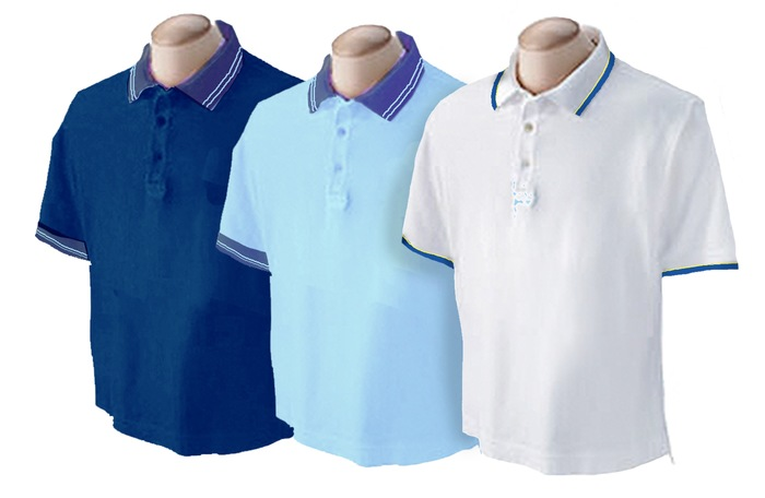 BOYS - PREMIUM - Unisex Polo Spandex With Tip Collar S/S