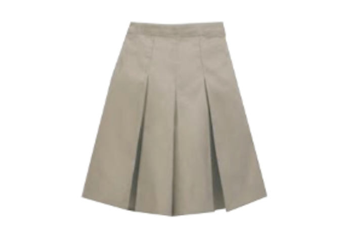 QUIET WATERS ELEMENTARY - Girls Pull-Up Culotte Solid