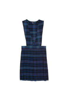 GIRLS - VALUE LINE - Plaid V-Neck Jumper Y9002