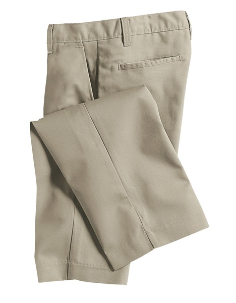 TRINITY EPISCOPAL SCHOOL - Mens Relaxed Plain Front Pants