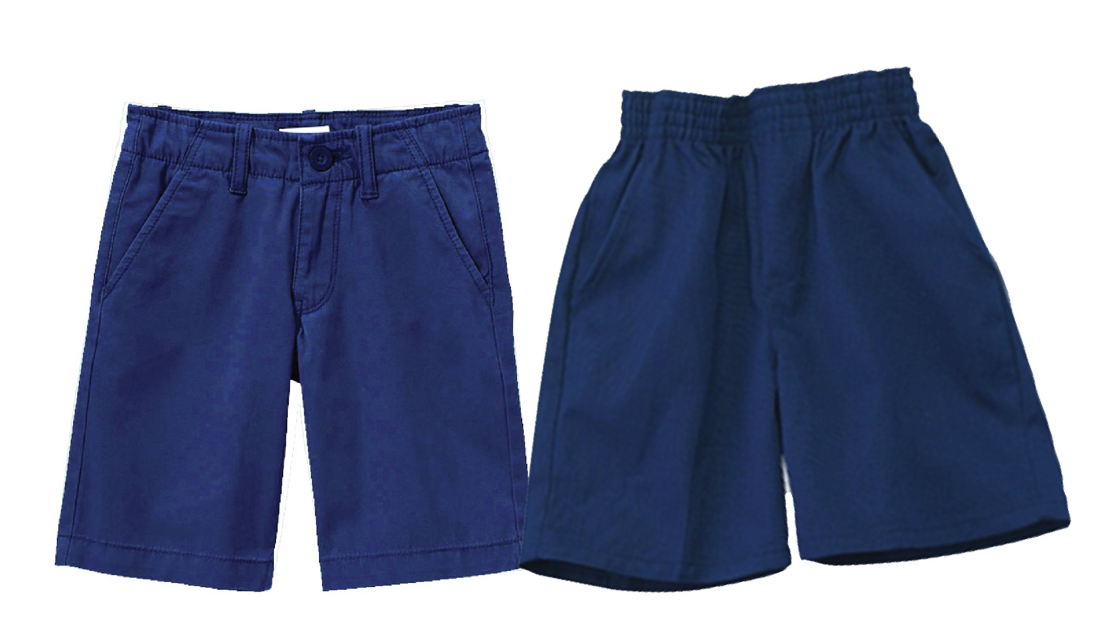 BOYS - PREMIUM - Boys Short Flat Front Pull Up