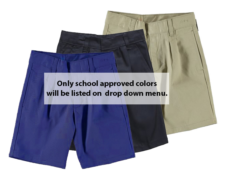 BOYS - PREMIUM - Boys Short Pleated