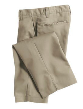 BOYS - VALUE LINE - Boys Pants Flat Front Husky