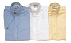 QUIET WATERS ELEMENTARY - TWO BUTTON SHIRT S/S
