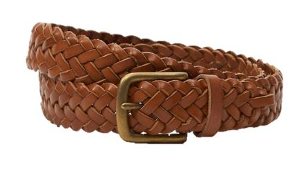 BOYS - PREMIUM -  Braided Belt With Single Prong Buckle